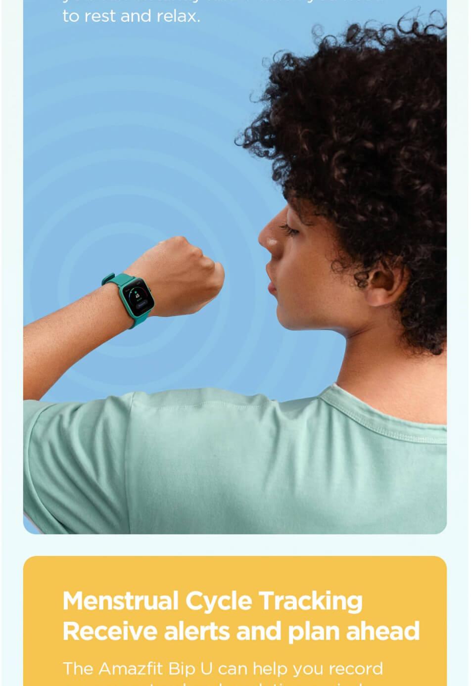 Amazfit Bip U Smart Watch 16