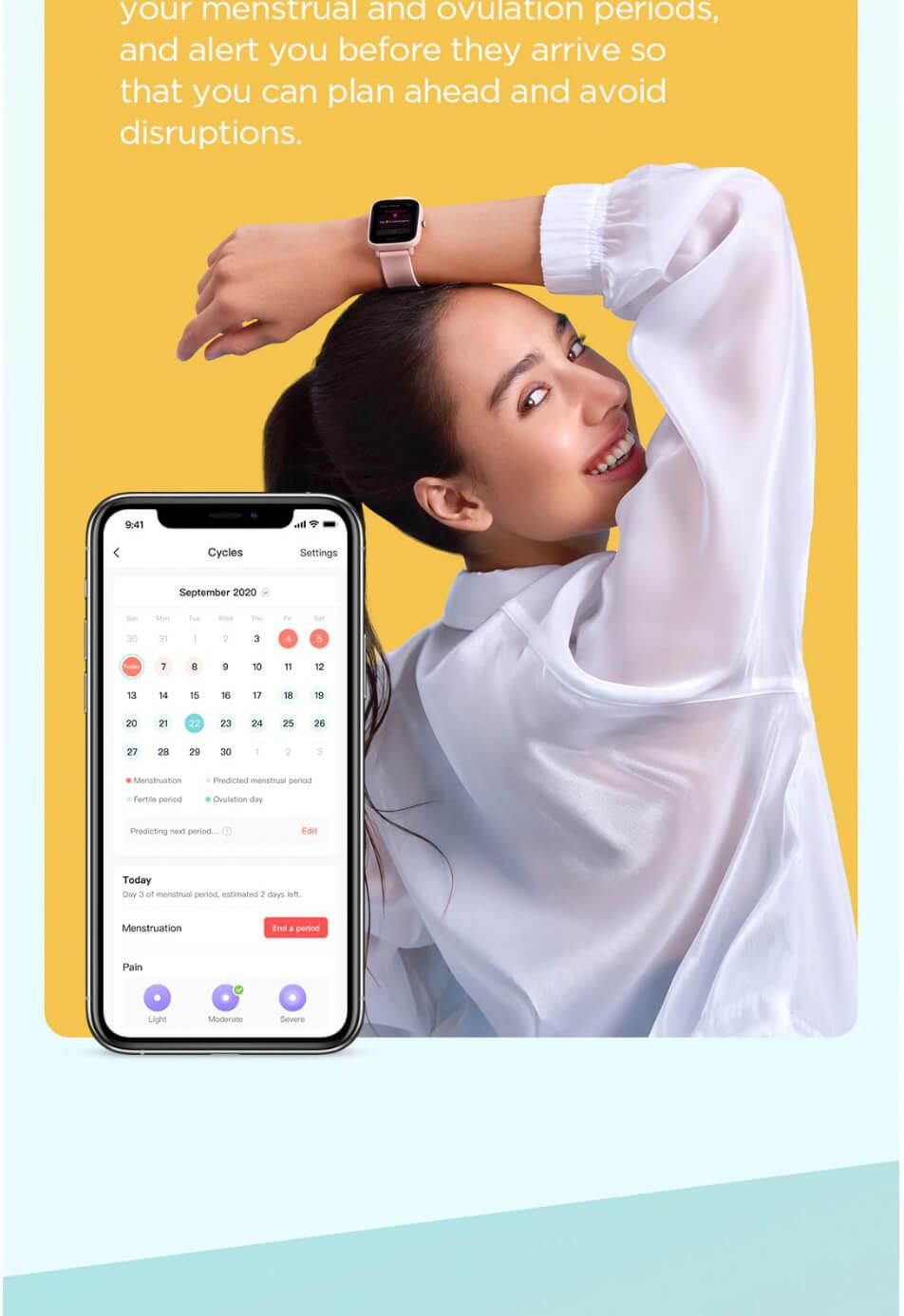 Amazfit Bip U Smart Watch 17