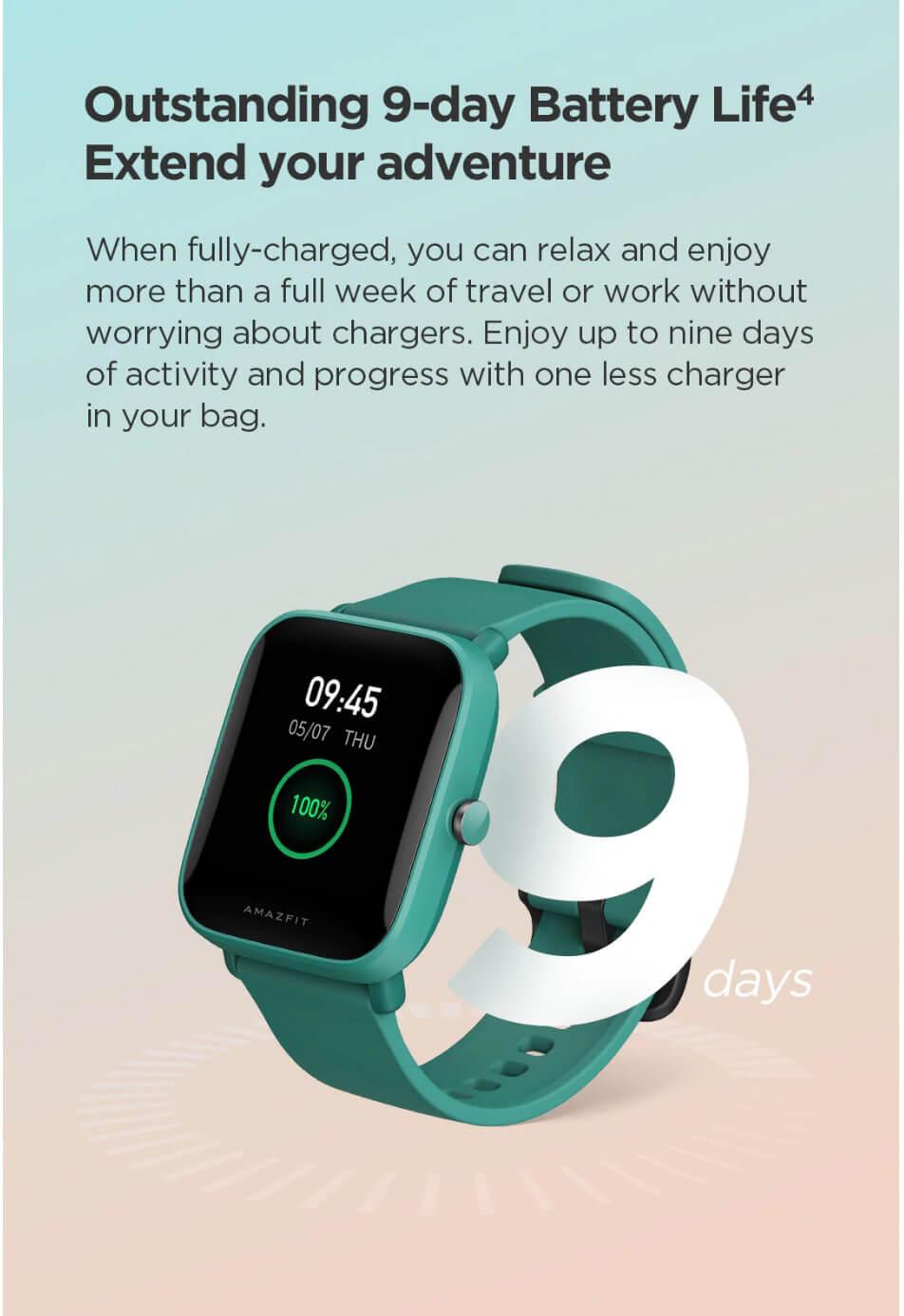 Amazfit Bip U Smart Watch 18