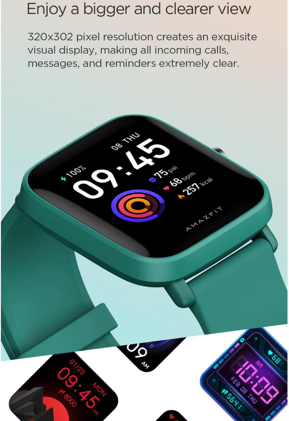 Amazfit Bip U Smart Watch 3