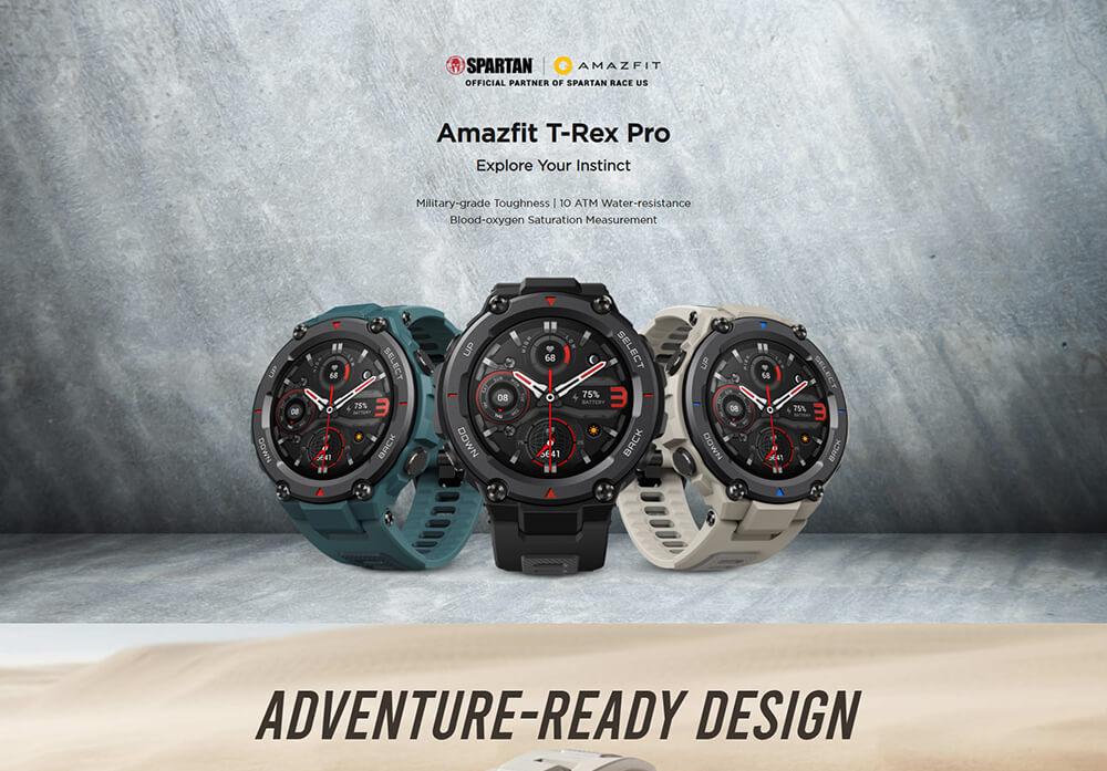 Amazfit T Rex Pro 15