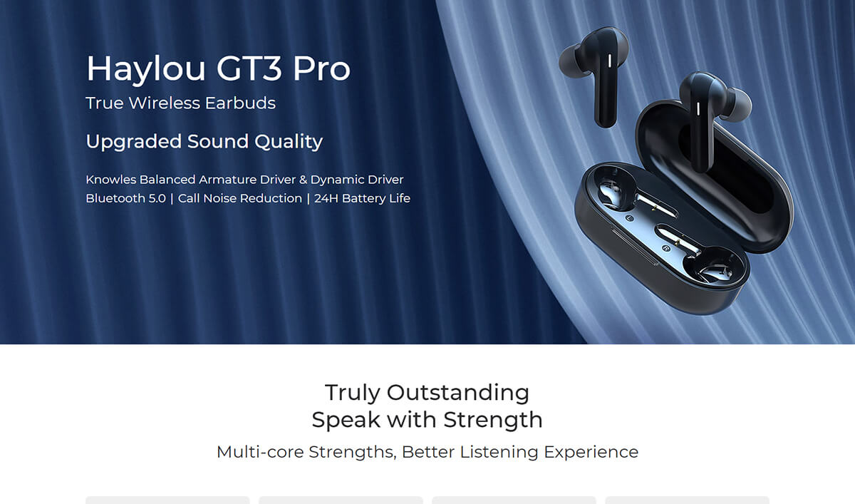 Haylou GT3 Pro