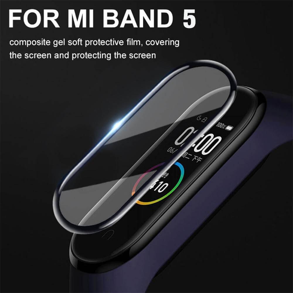 Screen Protector Glass for xiaomi mi band 5 1