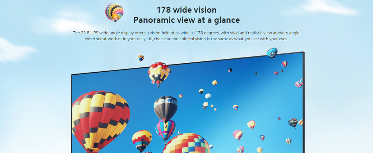 Xiaomi 23.8 Desktop Monitor 1C 3
