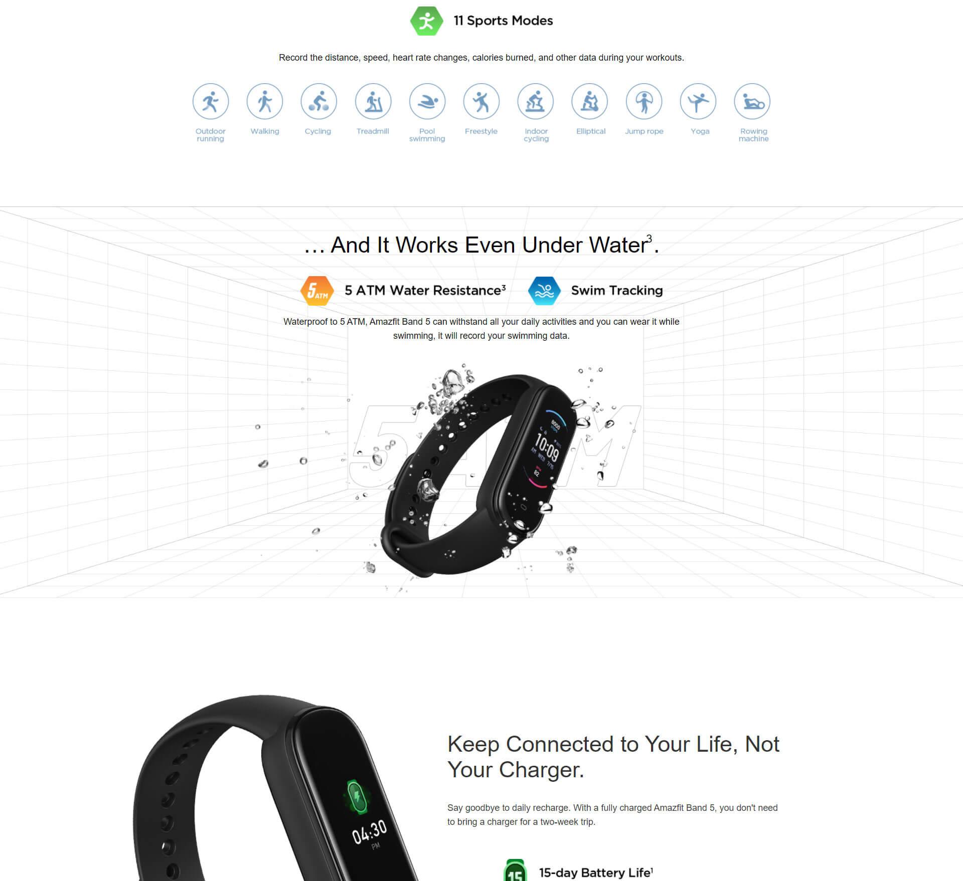 Xiaomi Amazfit Band 5 1 7