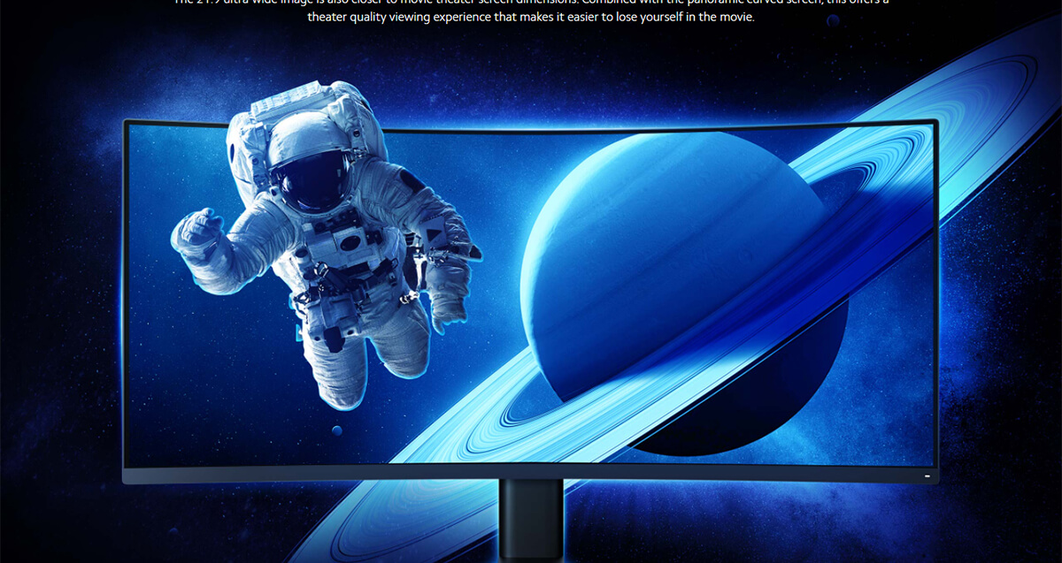 Xiaomi Curved Gaming Monitor 12