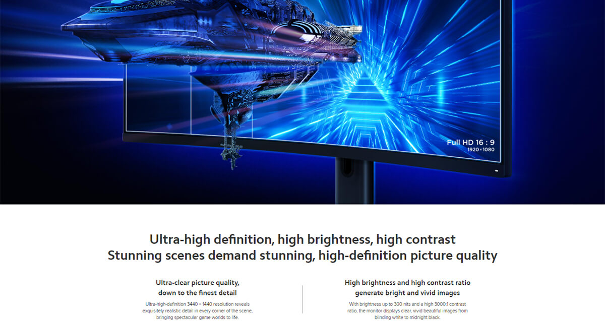 Xiaomi Curved Gaming Monitor 4