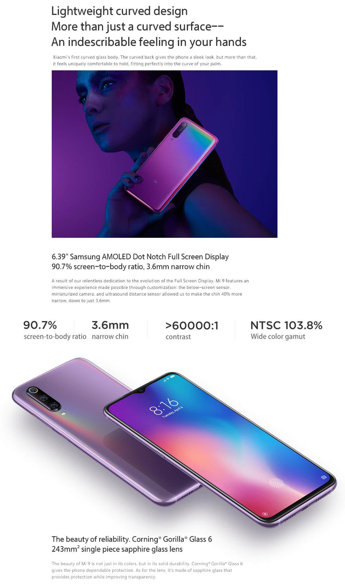 Xiaomi Mi 9 10