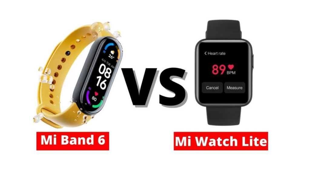 Xiaomi Mi Watch Lite Compare 4
