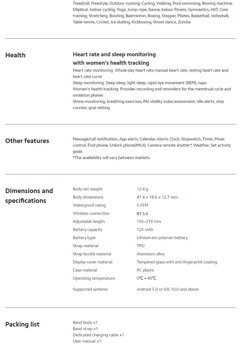 Xiaomi Miband 6 Global 1