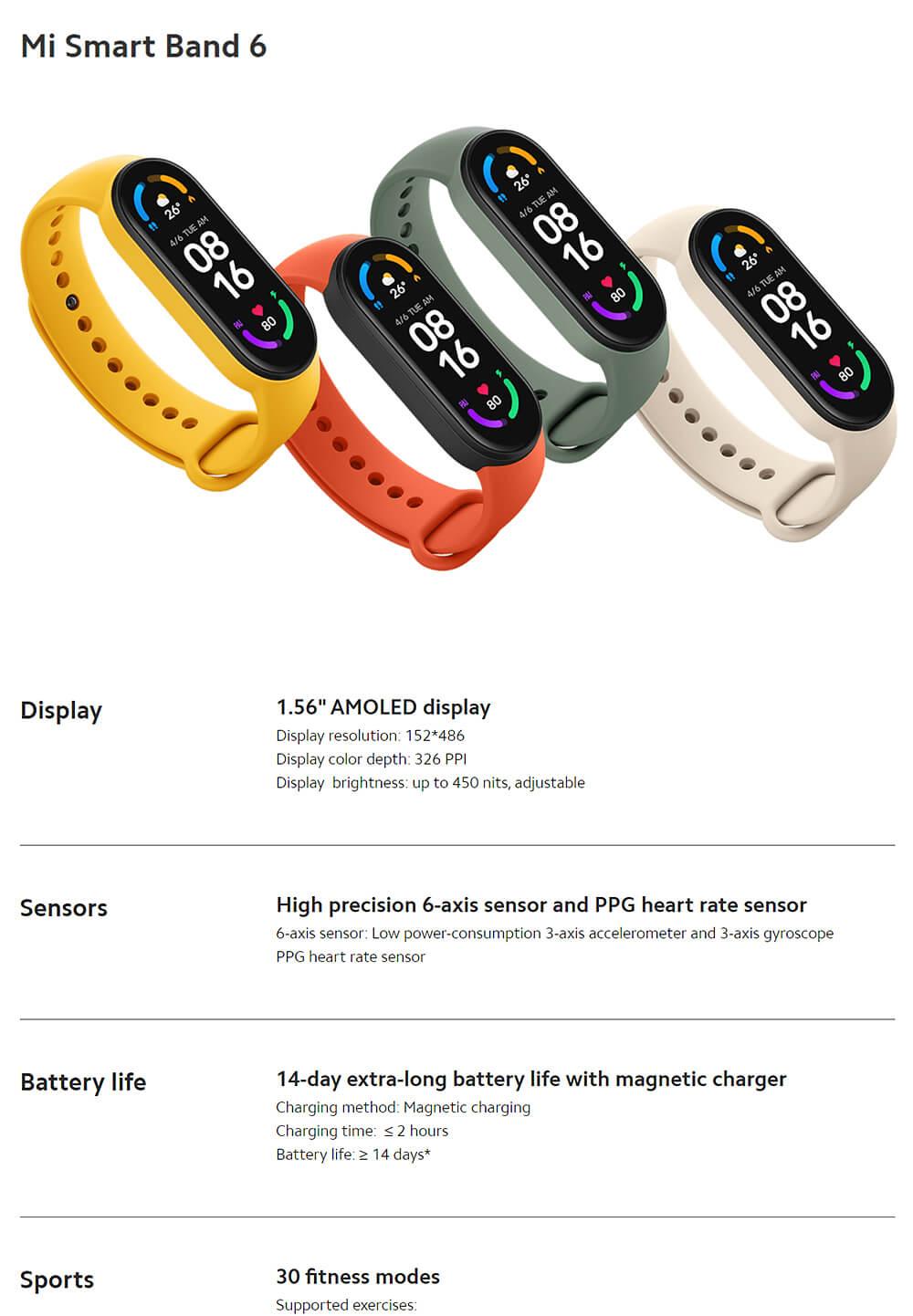 Xiaomi Miband 6 Global 17