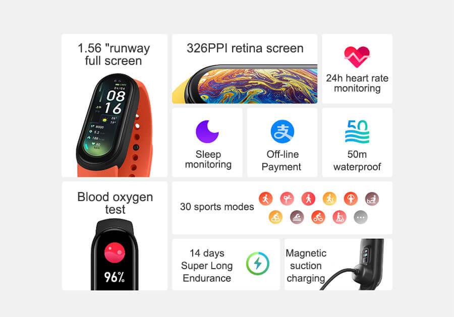 Xiaomi Miband 6 Global 2
