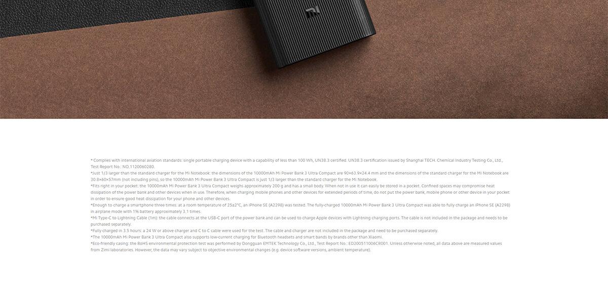 Xiaomi Ultra Compact 10000 10
