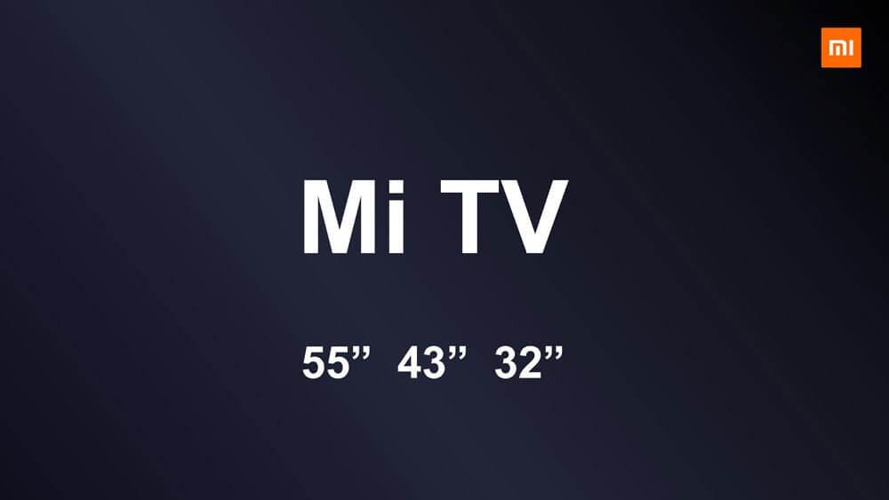 Xiaomi mi tv 4S 1