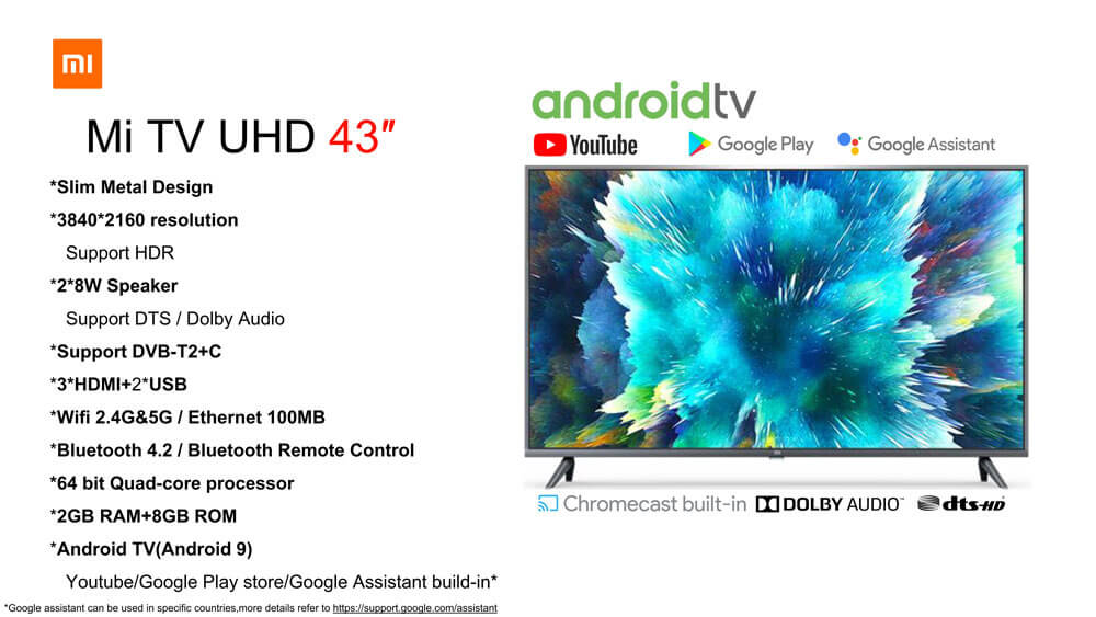 Mi TV 4S 43