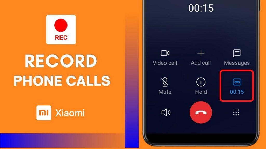 Record Call Xiaomi 1
