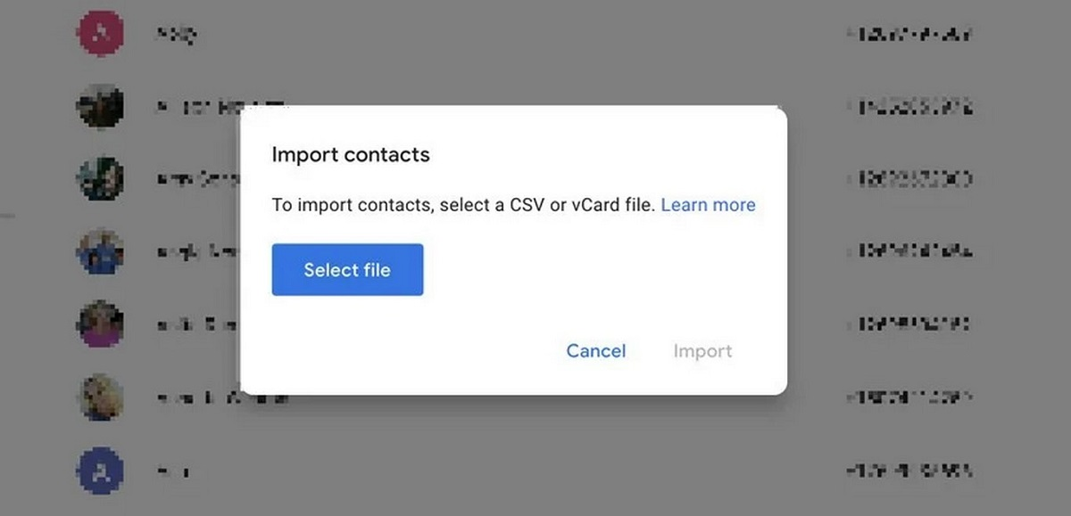 transfer contacts 2