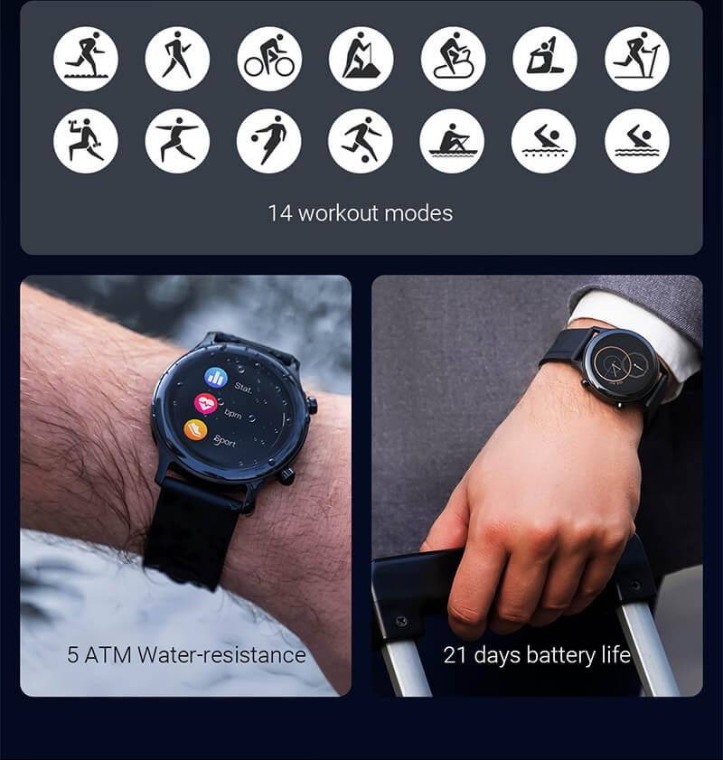 ساعت هوشمند شیائومی مدل Haylou RS3 LS04