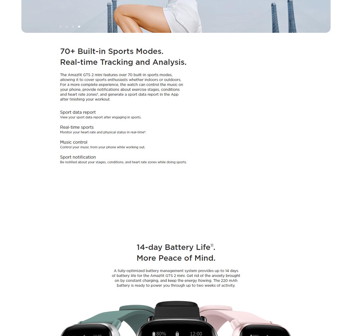 Xiaomi Amazfit GTS 2 Mini 7