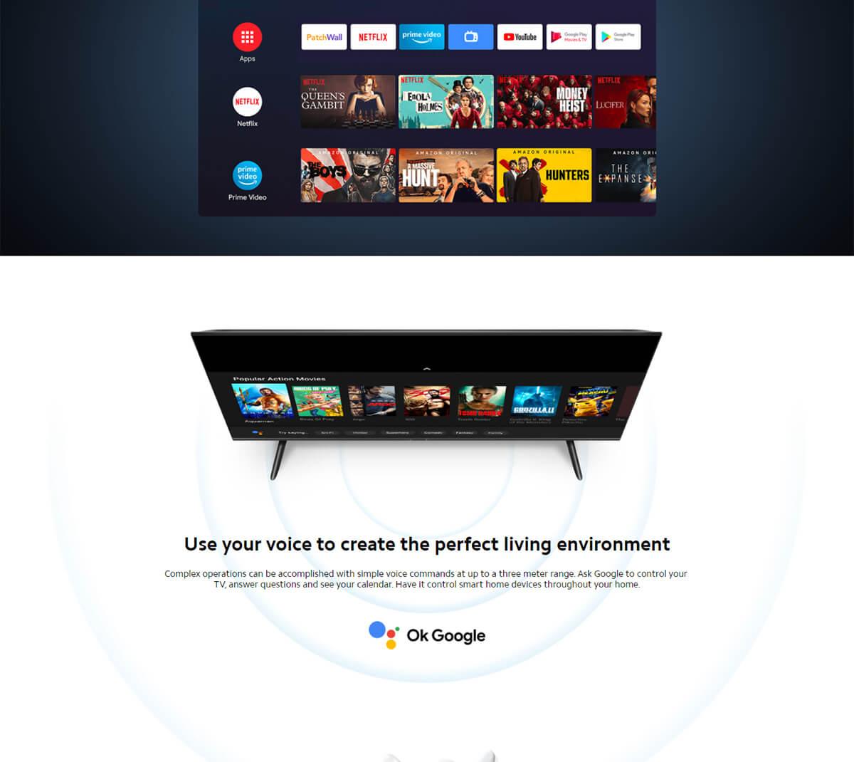 Xiaomi Mi Tv P1 55inch 6