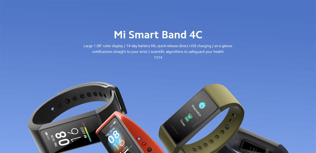 Xiaomi Redmi Band 4C 1