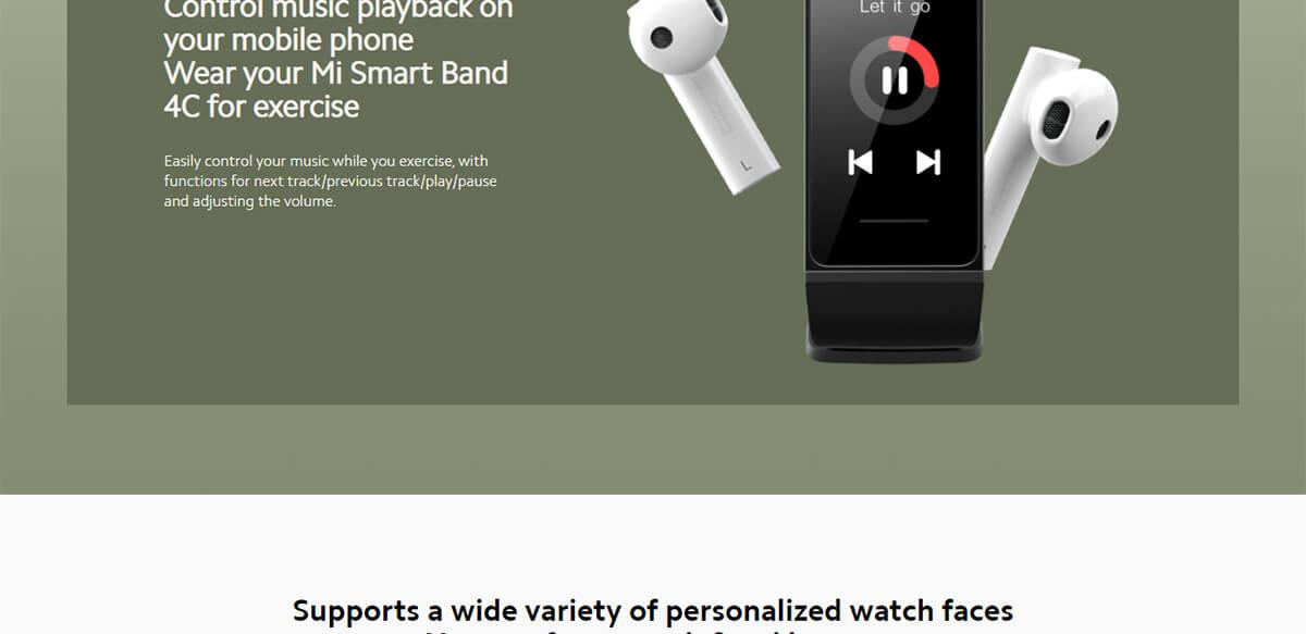 Xiaomi Redmi Band 4C 16