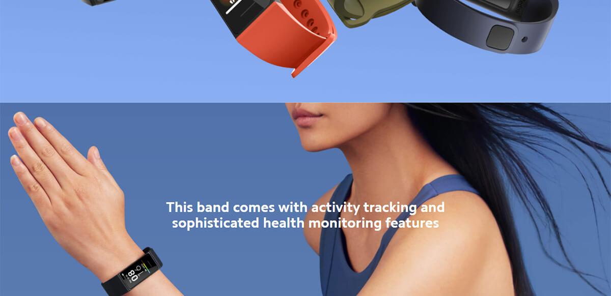 دستبند سلامتی شیائومی مدل Redmi Band 4C