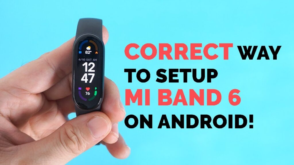 How To Connect Mi Band 9