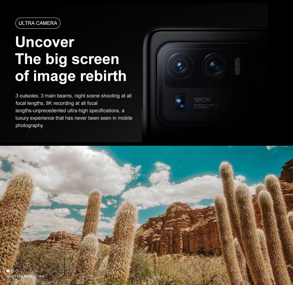 گوشی شیائومی مدل Mi 11 Ultra ظرفیت 12/512 گیگابایت