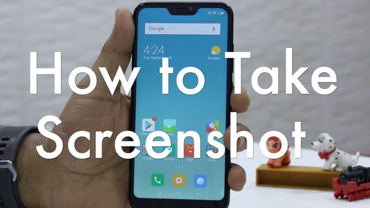 How To Take a Screenshot 2