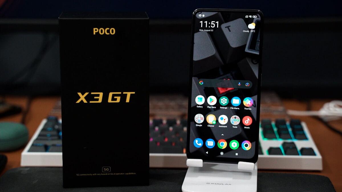 Poco X3 Pro vs X3 GT 5