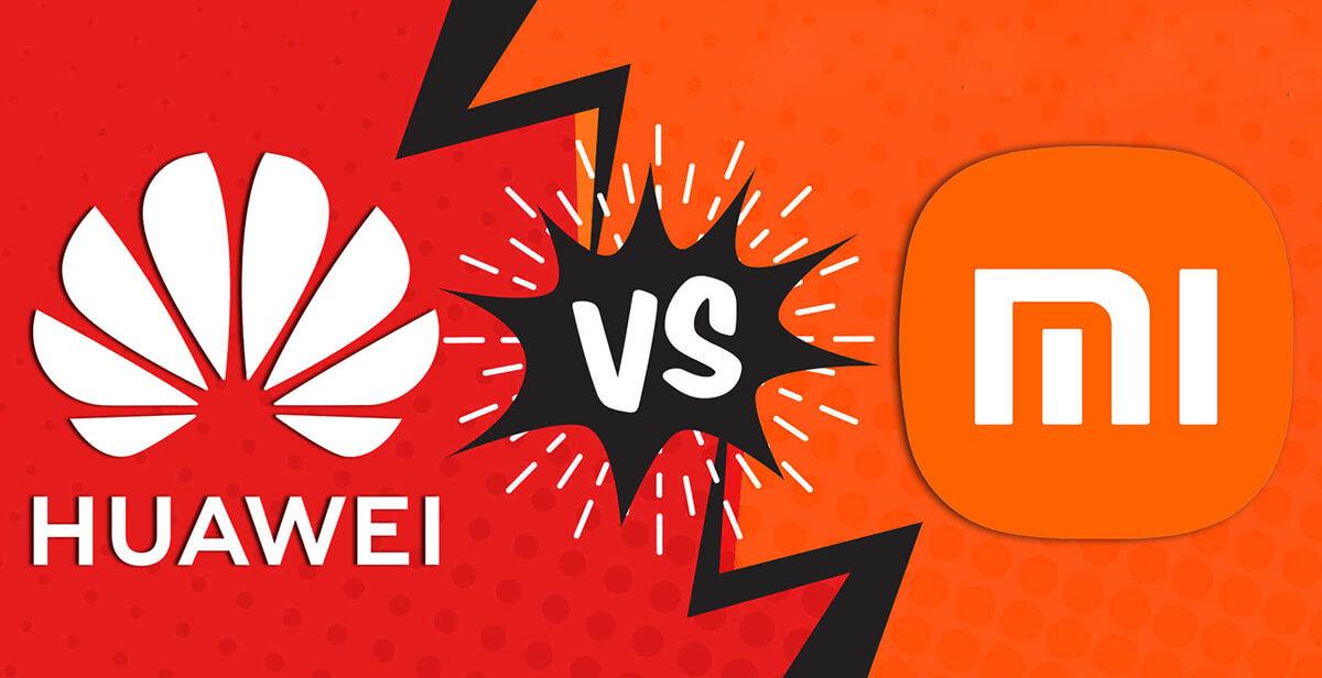 Xiaomi Vs Huawei 4
